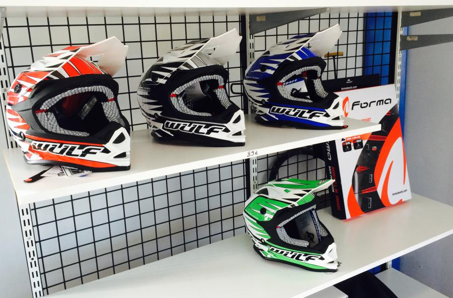 CASQUES WULF RACING 89€